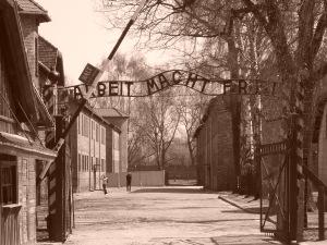 Entrance to Auchwitz
