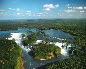 Iguazu from above