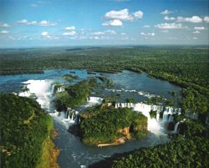 Iguazu from above