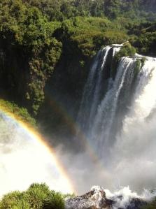Iguazu with waterfall