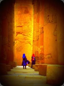 Karnak, girls
