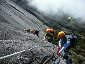 Kinabalu climbers I