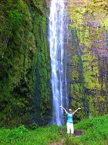 Les at Hana Falls
