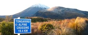 Here it all begins - The Tongariro Alpine Crossing