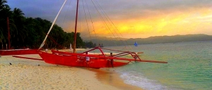 White Beach, Boracay Panoramic