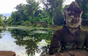 AngkorThom Balustrade