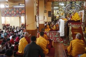 Dalai speaking