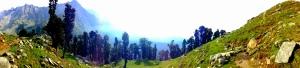 Snow Line Panorama