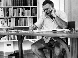 Hemingway in Paris