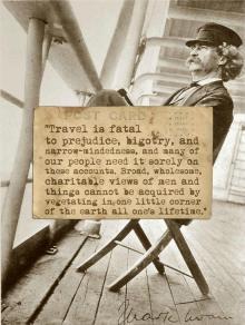 Twenty First Century Nomad Travel Quote