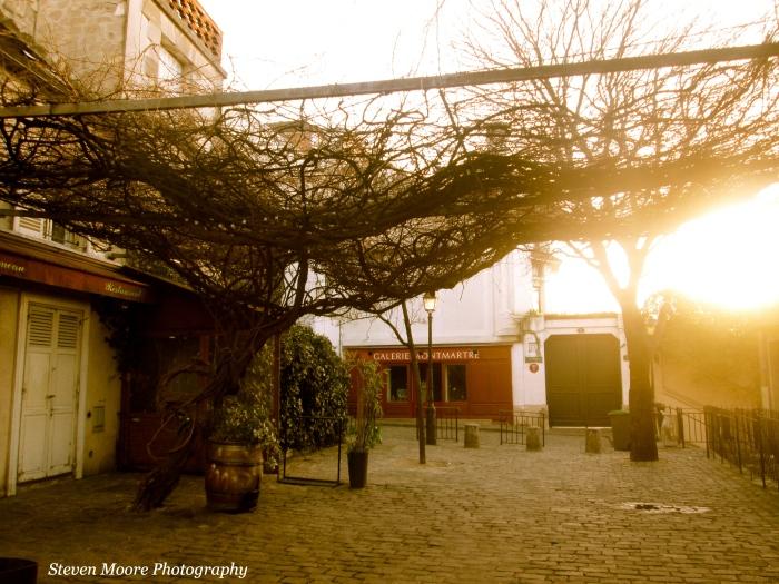 Misty Montmartre